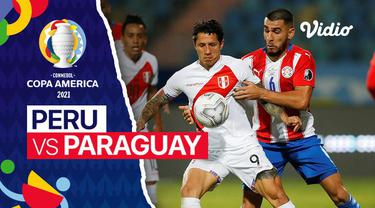 Berita Video, Highlights Copa America 2021 Antara Peru melawan Paraguay, pada Sabtu (3/7/2021) pagi WIB.