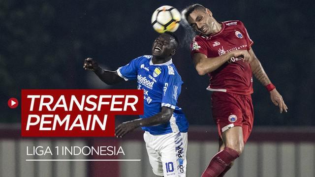 Berita video update transfer pemain klub Liga 1, salah satunya kepindahan Ezechiel N'Douassel ke Bhayangkara FC.