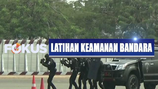 Bandara International Seokarno Hatta merupakan salah satu obyek vital yang harus tetap dijaga keamanannya.