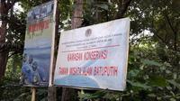 Taman Wisata Alam Batuputih di Bitung. (Liputan6.com/Komarudin)