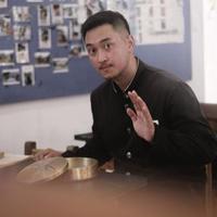 Haydar Pratama saat berada di Korea Selatan (Instagram/@haydarpratama)