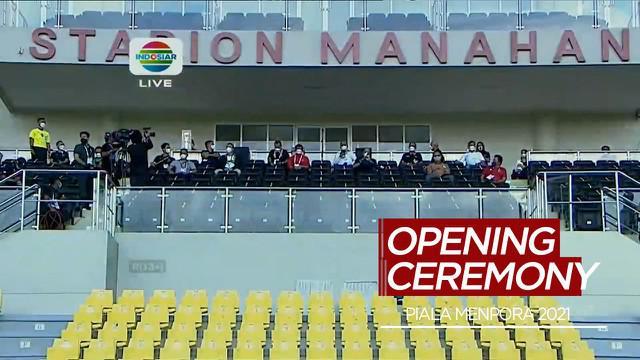 Berita Video Zainudin Amali, Ketum PSSI dan Gibran Rakabuming Resmi Buka Piala Menpora 2021