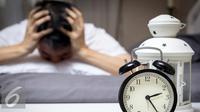Ilustrasi Insomnia atau Susah Tidur (iStockphoto)