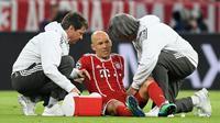 Gelandang Bayern Munchen asal Belanda, Arjen Robben. (AFP/Christof Stache)
