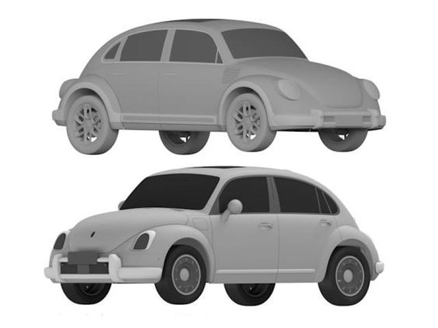 Pabrikan Cina Ini Berani Patenkan Desain Mobil Listrik Mirip Vw Beetle Otomotif Liputan6 Com