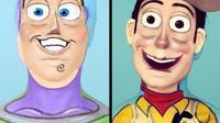 makeup jadi tokoh kartun (foto: @creative.cliche)