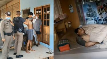 Aksi Kocak Maling Saat Membobol Rumah Seorang Polisi, Malah Ketiduran
