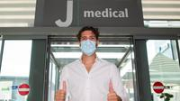 Manuel Locatelli jalani tes medis di J Medical jelang kepindahan ke Juventus. (Juventus)