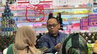 Produk peralatan rumah tangga berbahan plastik asal Indonesia siap mendunia ddengan program ekspor dari pemerintah di Trade Expo Indonesia.