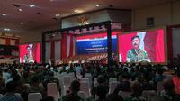 Panglima TNI Marsekal Hadi Tjahjanto menggelar silaturahmi akbar jajaran TNI. Dalam acara tersebut juga turut diundang sejumlah purnawirawan.