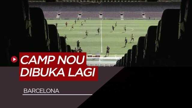 Berita Video Luis Suarez, Antoine Griezmann dan Pemain Barcelona Lainnya Mulai Coba Camp Nou Jelang Kembalinya La Liga