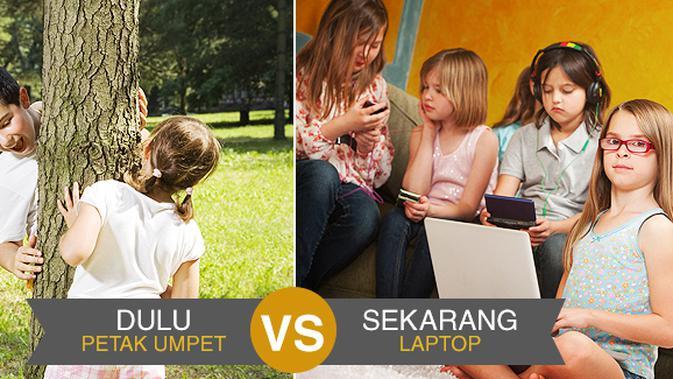 Perbandingan Mainan Anak Zaman Dulu dan Zaman Sekarang - Parenting  Fimela.com ec0fbc2315