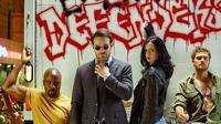 Serial The Defenders besutan Netflix dan Marvel. (Netflix via cbr.com)