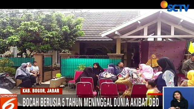 Kasus DBD di Kabupaten Bogor terus meningkat. Ada 231 orang terjangkit DBD dan dirawat di sejumlah rumah sakit.