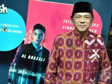 Ray Sahetapy geram dengan keputusan KPU yang mencoretnya menjadi Caleg DPD Sulawesi Tengah hanya karena telat 10 Menit, Jakarta, (21/7/14) (Liputan6.com/ Panji Diksana)