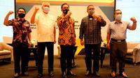 PBSI mengumumkan kepengurusan periode 2020-2024 di Hotel Ayana, Jakarta, pada Rabu (23/12/2020). (Ist)