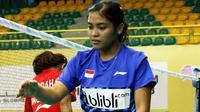 Pertandingan kedua Grup Z antara tim putri Indonesia dan China tersebut bakal digelar Kamis (8/2/2018). (PBSI)