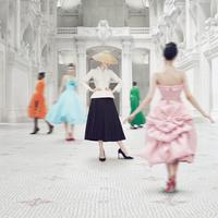"""Pameran """"Christian Dior: Designer of Dreams."""" Sumber foto: Instagram/Dior."""