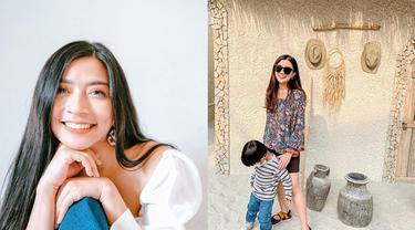 6 Potret Ayu Hastari saat Momong Anak, Hot Mom yang Selalu Tampil Stylish