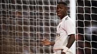 3. Vinicius Junior (Real Madrid) - 63 Juta Pounds. (AFP/Oscar del Pozo)