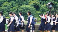 Ilustrasi anak sekolah, seragam sekolah. (Photo by Stephanie Hau on Unsplash)