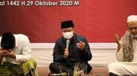 Pjs Gubernur Sulut Agus Fatoni mengapresiasi dukungan para tokoh agama dan seluruh masyarakat yang selalu bersama-sama menjaga situasi Sulut yang kondusif, aman dan toleran.