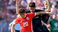 Winger asal Wales Daniel James jadi pembelian pertama Manchester United (MU) pada musim panas ini. (AFP/Geoff Lovrovic)