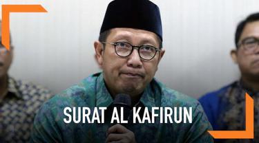 Kabar tentang Menteri Agama Lukman Hakim Saifuddin yang mengganti terjemanan Surat Al Kafirun dalam Alquran menjadi non muslim, viral di media sosial.