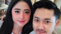 Angga Wijaya dan Dewi Perssik [foto: instagram.com/dewiperssikreal]