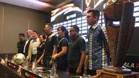 Drawing Piala Presiden 2019 di Hotel Sultan, Jakarta, Selasa (19/2/2019). (Bola.com/Benediktus Gerendo Pradigdo)