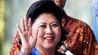 Ani Yudhoyono turut rayakan hari Batik Nasional, Kamis (2/10/2014).
