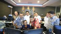 Pelindo III resmi meluncurkan sebuah sistem pelayanan kepelabuhanan berbasis internet bernama Port Operation Command Center