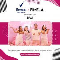 Setelah menghampiri beberapa kota besar yang ada di Indonesia, akhirnya pada Desember nanti Rexona x Fimela juga bakal mampir ke Bali.