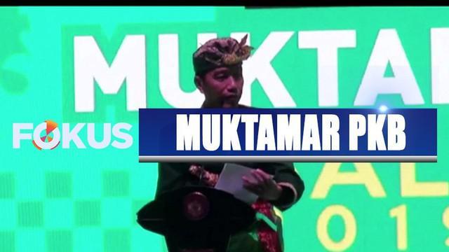 Pada muktamar kali ini, Ketum PKB Muhaimin Iskandar kembali terpilih sebagai ketua umum.