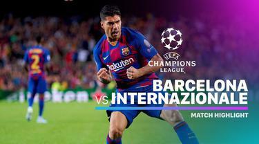 Berita video highlights Grup F Liga Champions 2019-2020 antara Barcelona melawan Inter Milan yang berakhir dengan skor 2-1, Rabu (2/10/2019).