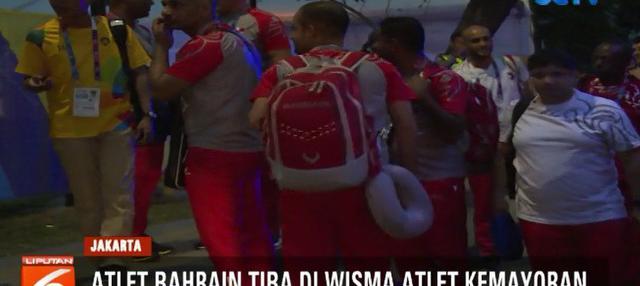 Sejumlah atlet dari berbagai negara yang akan berlaga di Asian Games 2018 mulai berdatangan ke Wisma Atlet Kemayoran, Jakarta Pusat.