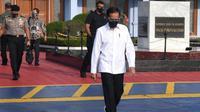 Presiden Joko Widodo atau Jokowi melakukan kunjungan kerja ke Sulawesi Tenggara, Kamis (22/10/2020). (Foto: Biro Pers Sekretariat Presiden)