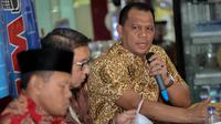 Direktur Ormas Ditjen Politik dan Pemerintah Umum Kemendagri La Ode Ahmad, Sabtu (15/7/2017). (Liputan6.com/Faizal Fanani)