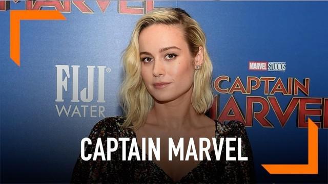 Pemeran Captain Marvel, Brie Larson mengungkapkan perasaannya setelah film Captain Marel resmi dirilis di bioskop.