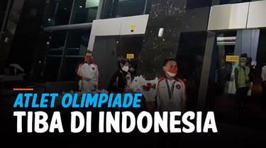 Atlet Eko Yuli dan Windy Cantika yang meraih medali perunggu di Olimpiade Tokyo telah tiba di Indonesia. Kedatangan keduanya disambut Menpora Zainudin Amali.