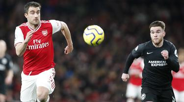 Arsenal Takluk di Kandang Sendiri dari Brighton