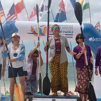 Atlet Stand Up Paddle Catharina Jahja Tjahjana wakili Indonesia ke kejuaraan di Jepang