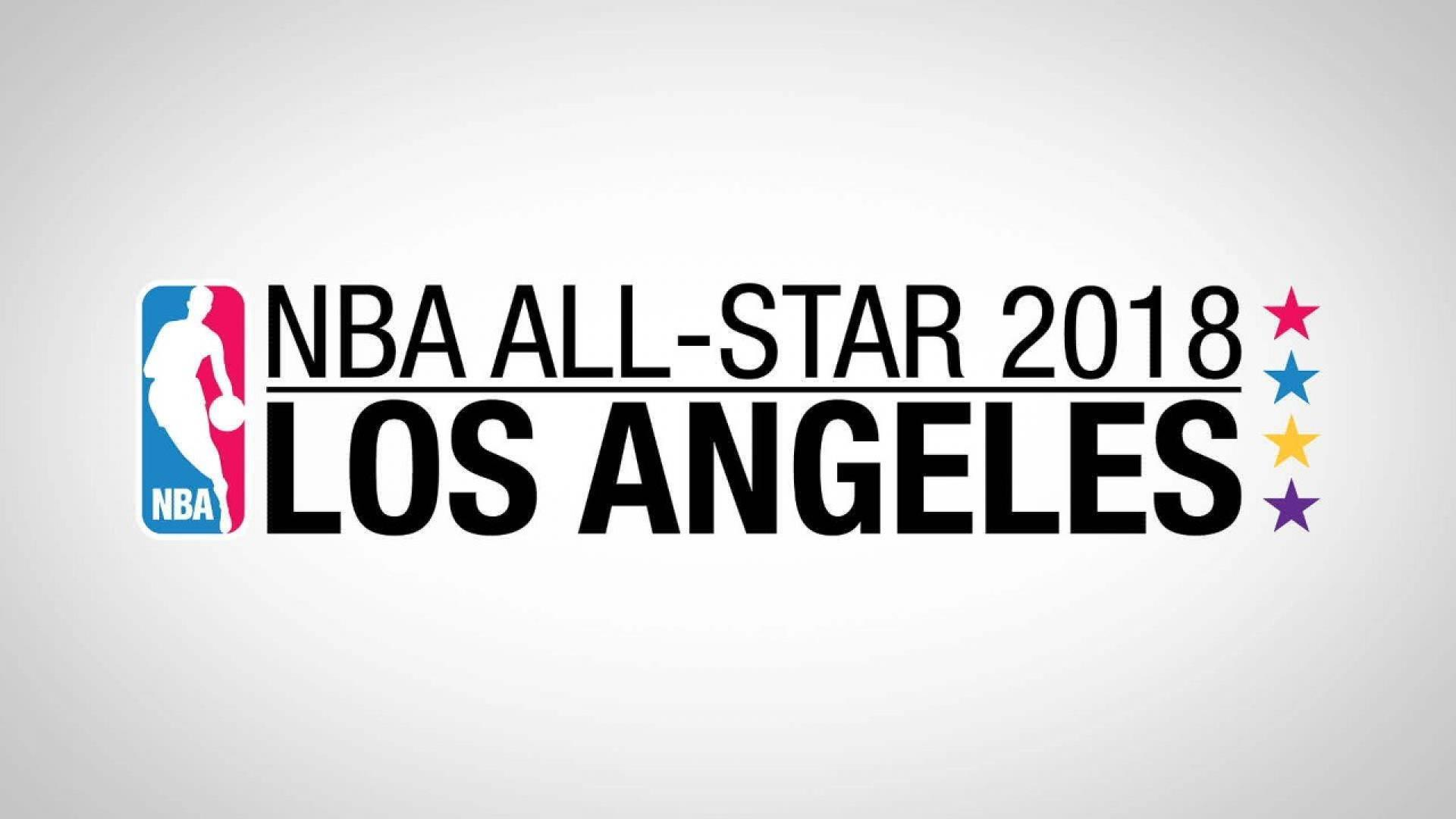Logo NBA All-Star 2018. (NBA)