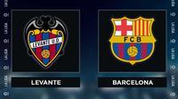 Liga Spanyol: Levante Vs Barcelona. (Bola.com/Dody Iryawan)