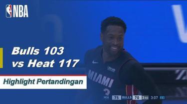 Josh Richardson mencetak 26 poin dan meraih tiga papan saat Miami mengalahkan Chicago.