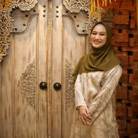 Melody Nurramdhani Laksani di Senayan City, Jumat (17/1/2020). (Adrian Putra/Fimela.com)