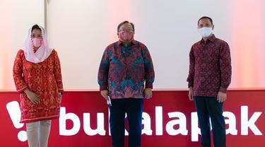 RUPS Bukalapak memutuskan angkat Bambang Brodjonegoro dan Yenny Wahid dalam jajaran komisaris pada Jumat, 30 April 2021 (Dok: Istimewa)