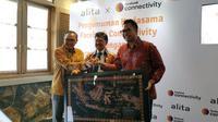 Acara Alita x Facebook Connectivity di Jakarta, Kamis (12/3/2020). (Liputan6.com/ Andina Librianty)