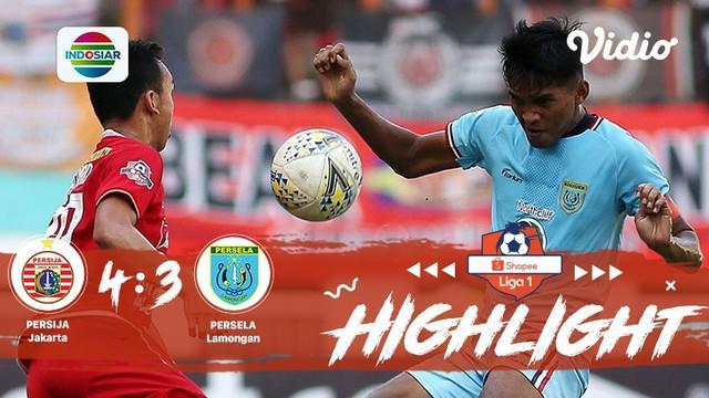 Babak Penyisihan #ShopeeLiga1 yang mempertemukan #Persija Jakarta vs #Persela Lamongan pada hari Jum'at sore (15/11/2019) berakhir...