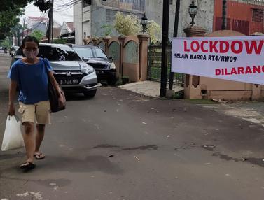 Kasus Covid-19 Meningkat, Banyak Wilayah Terapkan Lockdown Skala Mikro